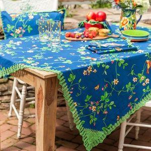 April Cornell Tablecloth Strawberry Fields 36x36